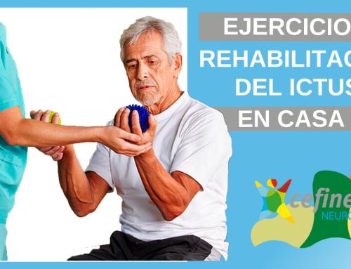 Rehabilitación del ictus cerebral en casa – Ejercicios con los brazos