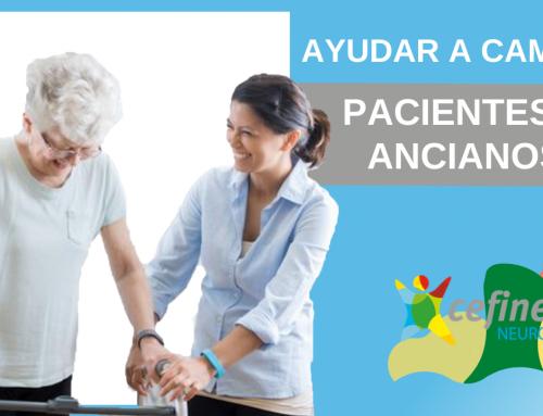¿Cómo ayudar a caminar a un anciano o a un paciente?