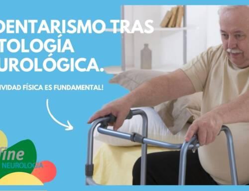 Sedentarismo tras el diagnóstico de una patología neurológica